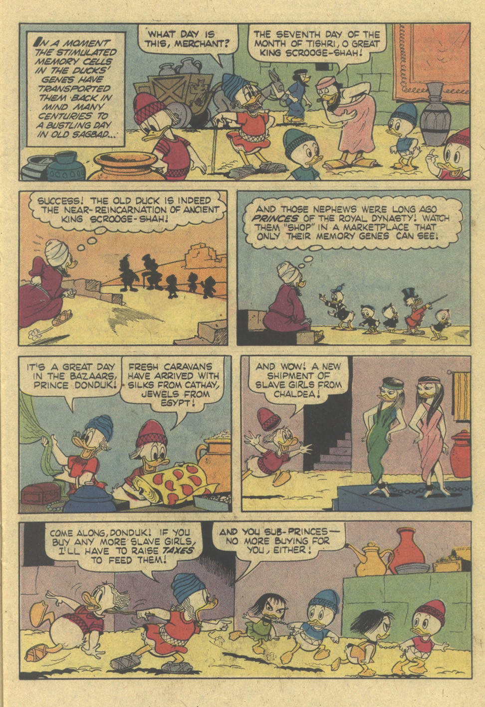 Read online Uncle Scrooge (1953) comic -  Issue #145 - 11