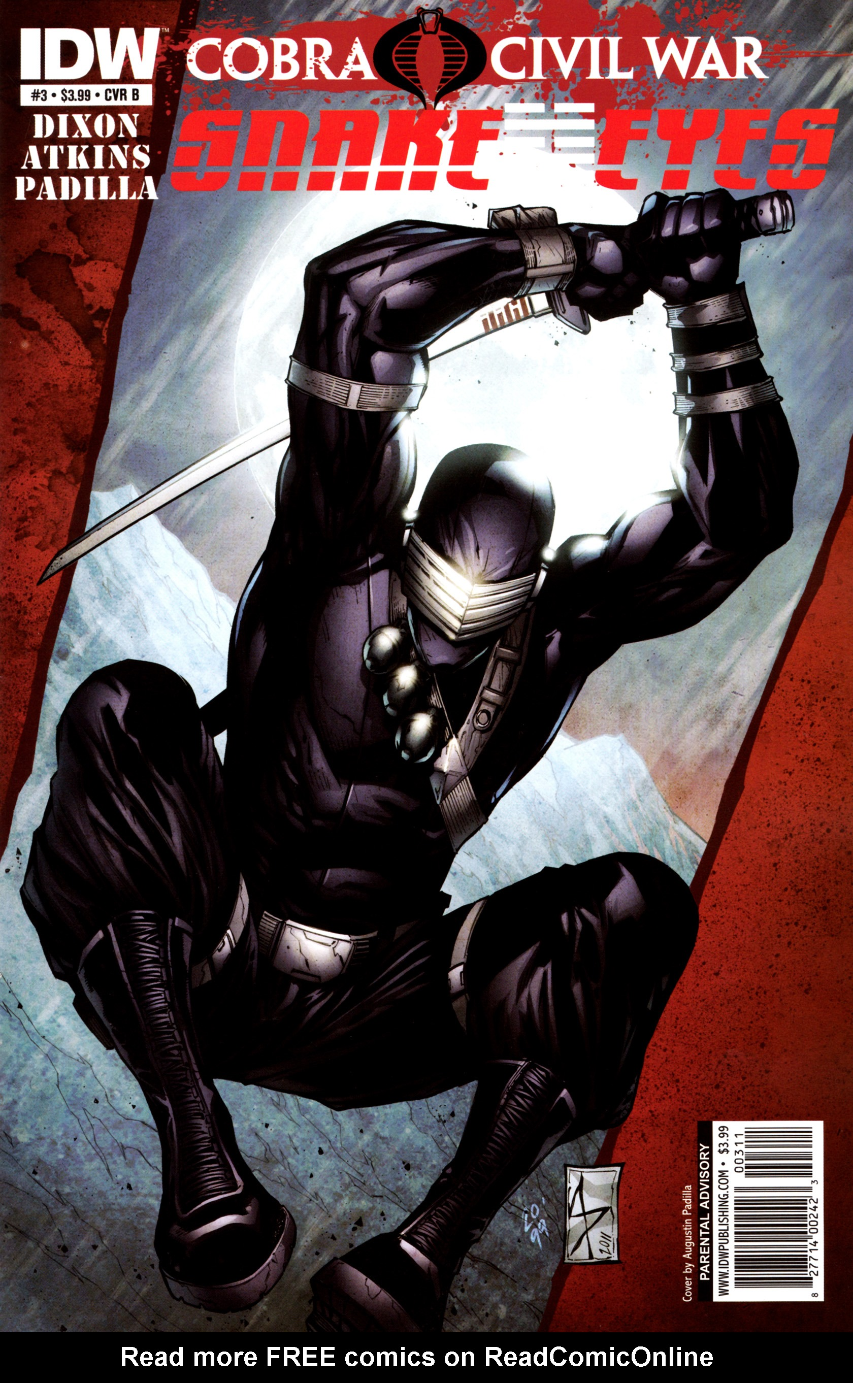 Read online G.I. Joe: Snake Eyes comic -  Issue #3 - 2