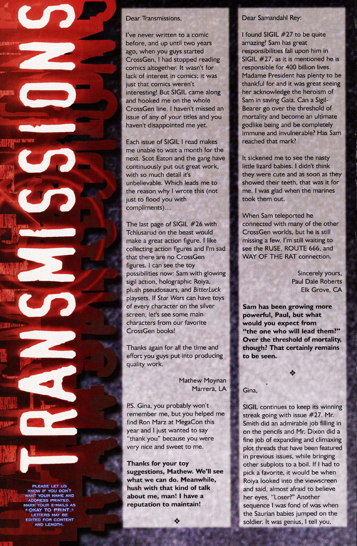 Read online Sigil (2000) comic -  Issue #29 - 20