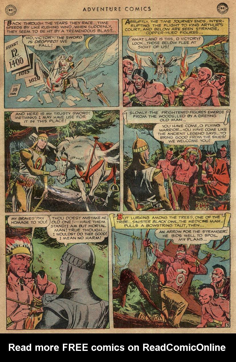 Read online Adventure Comics (1938) comic -  Issue #145 - 22