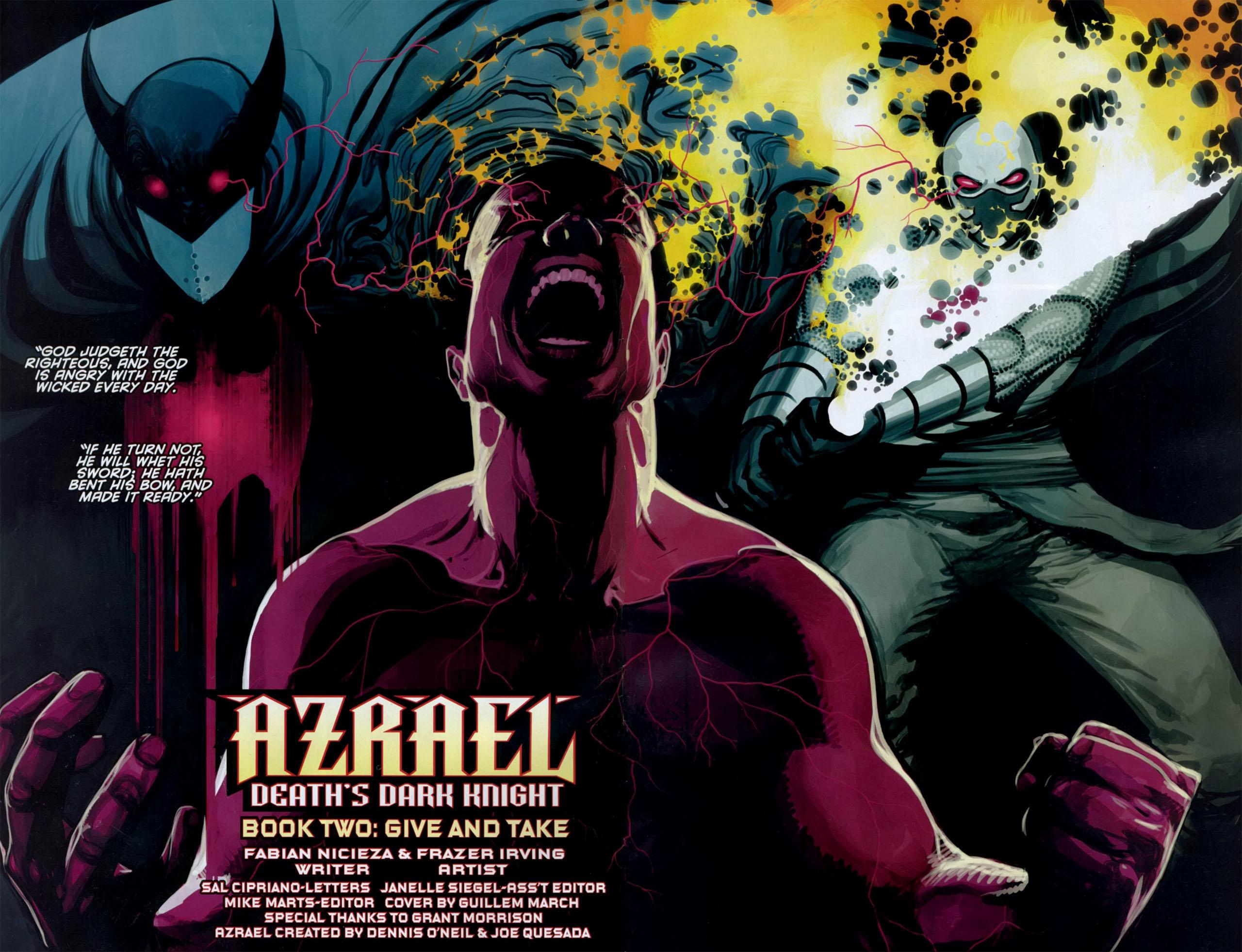 Read online Azrael: Death's Dark Knight comic -  Issue #2 - 4