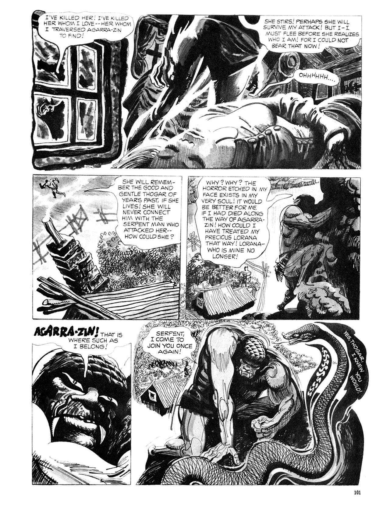 Read online Eerie Archives comic -  Issue # TPB 8 - 102