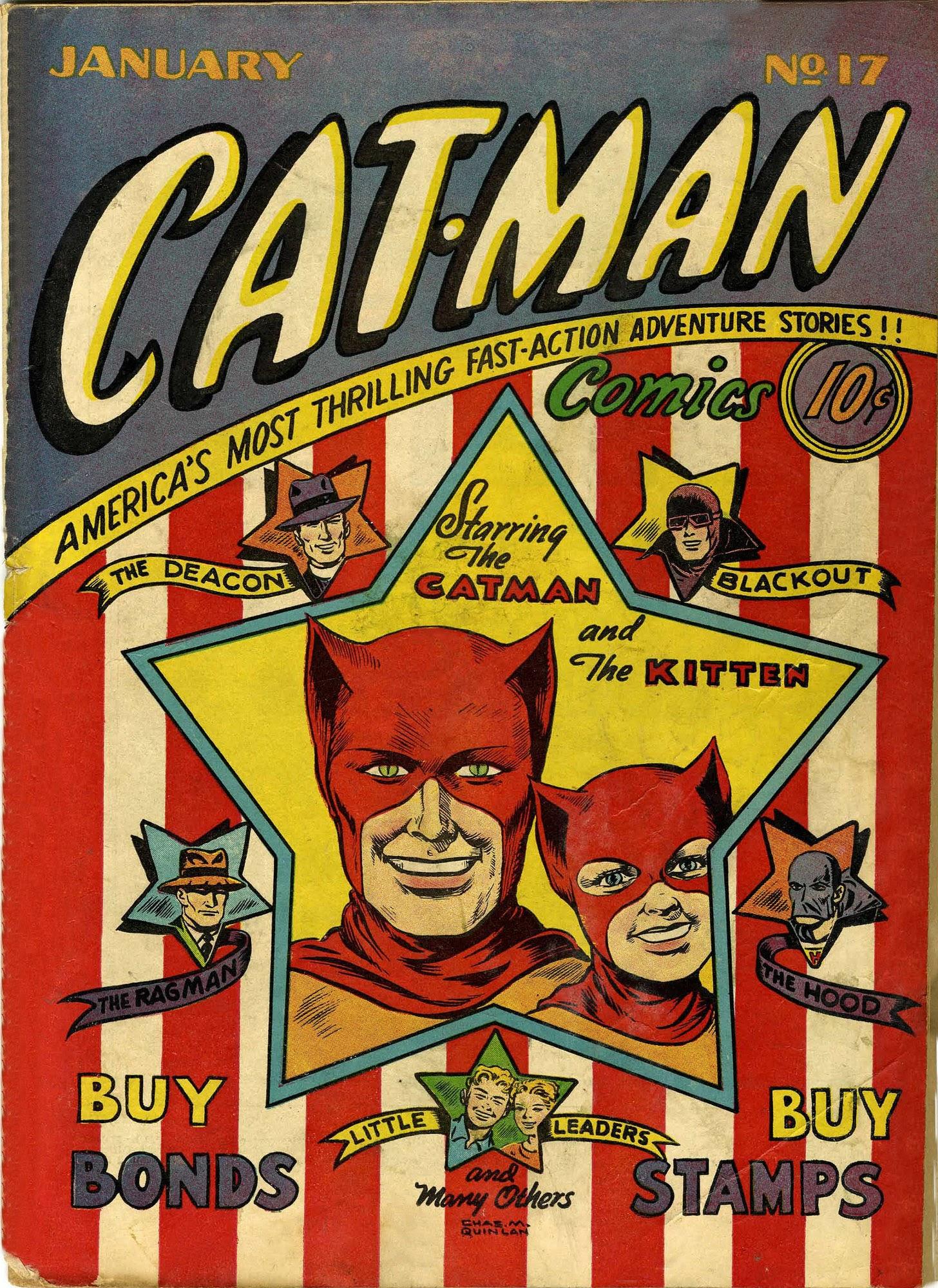 Cat-Man Comics 17 Page 1