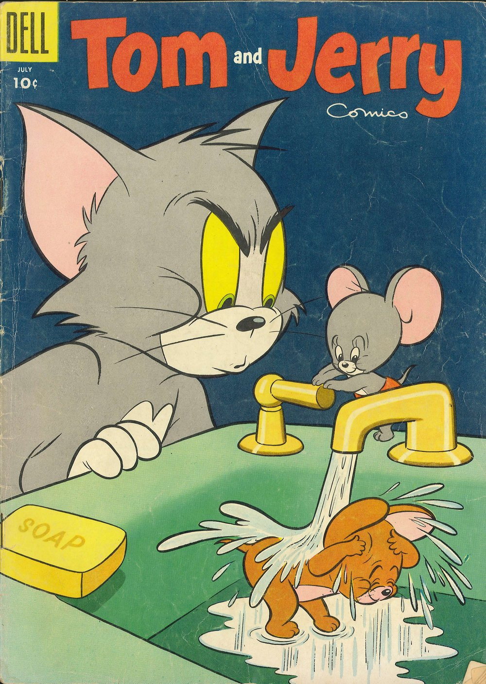 Tom & Jerry Comics issue 132 - Page 1