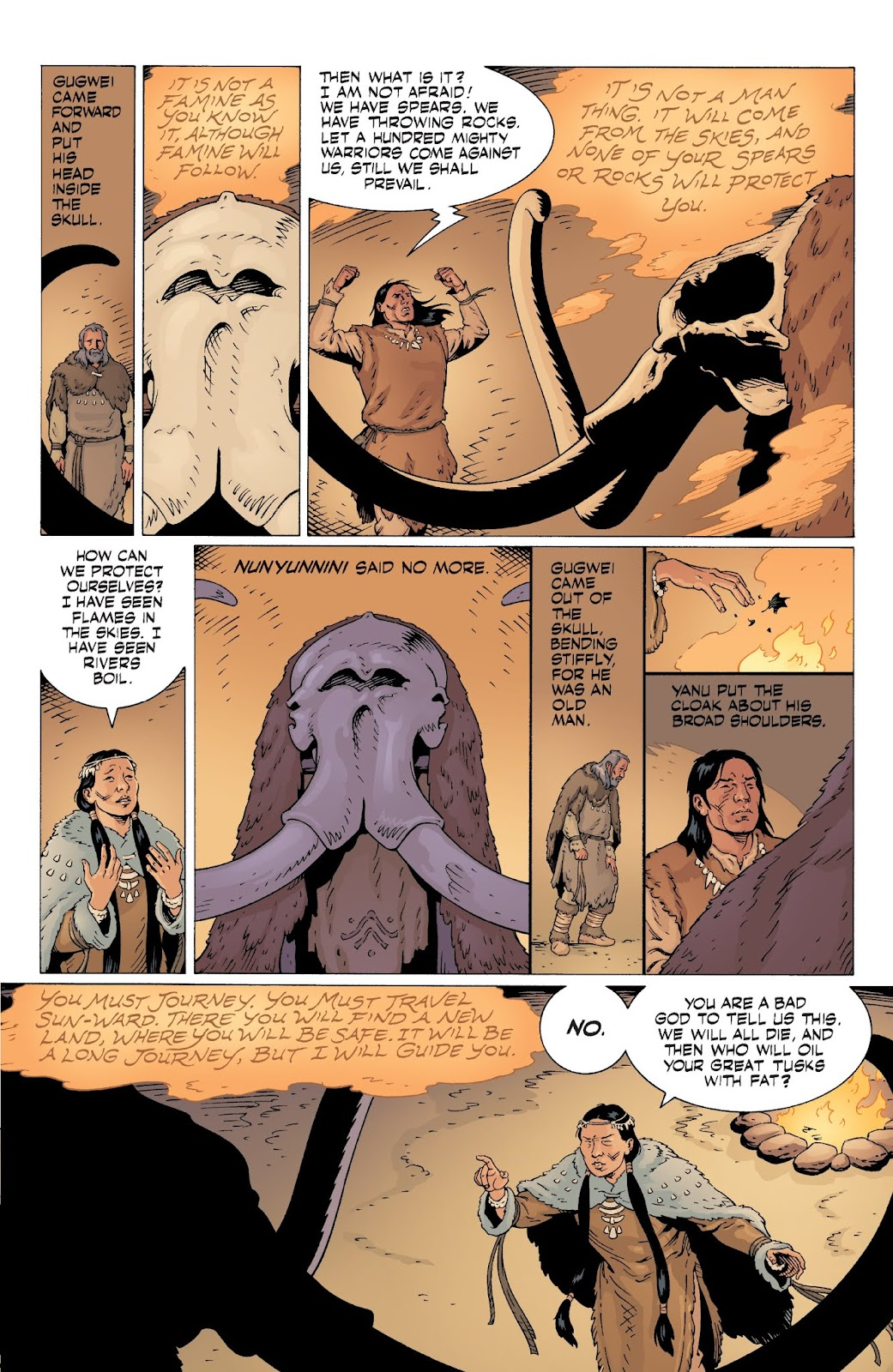 American Gods: My Ainsel issue 9 - Page 21
