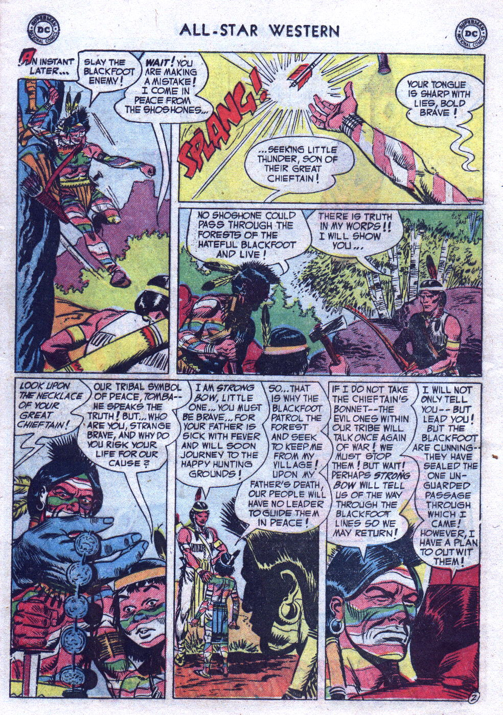 Read online All-Star Western (1951) comic -  Issue #69 - 12
