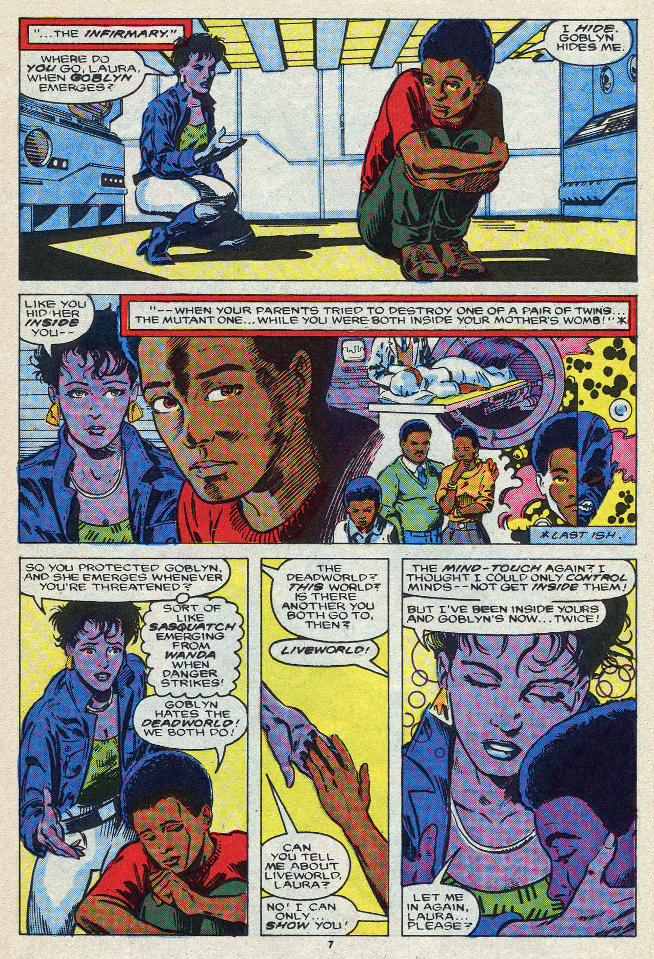 Read online Alpha Flight (1983) comic -  Issue #55 - 11