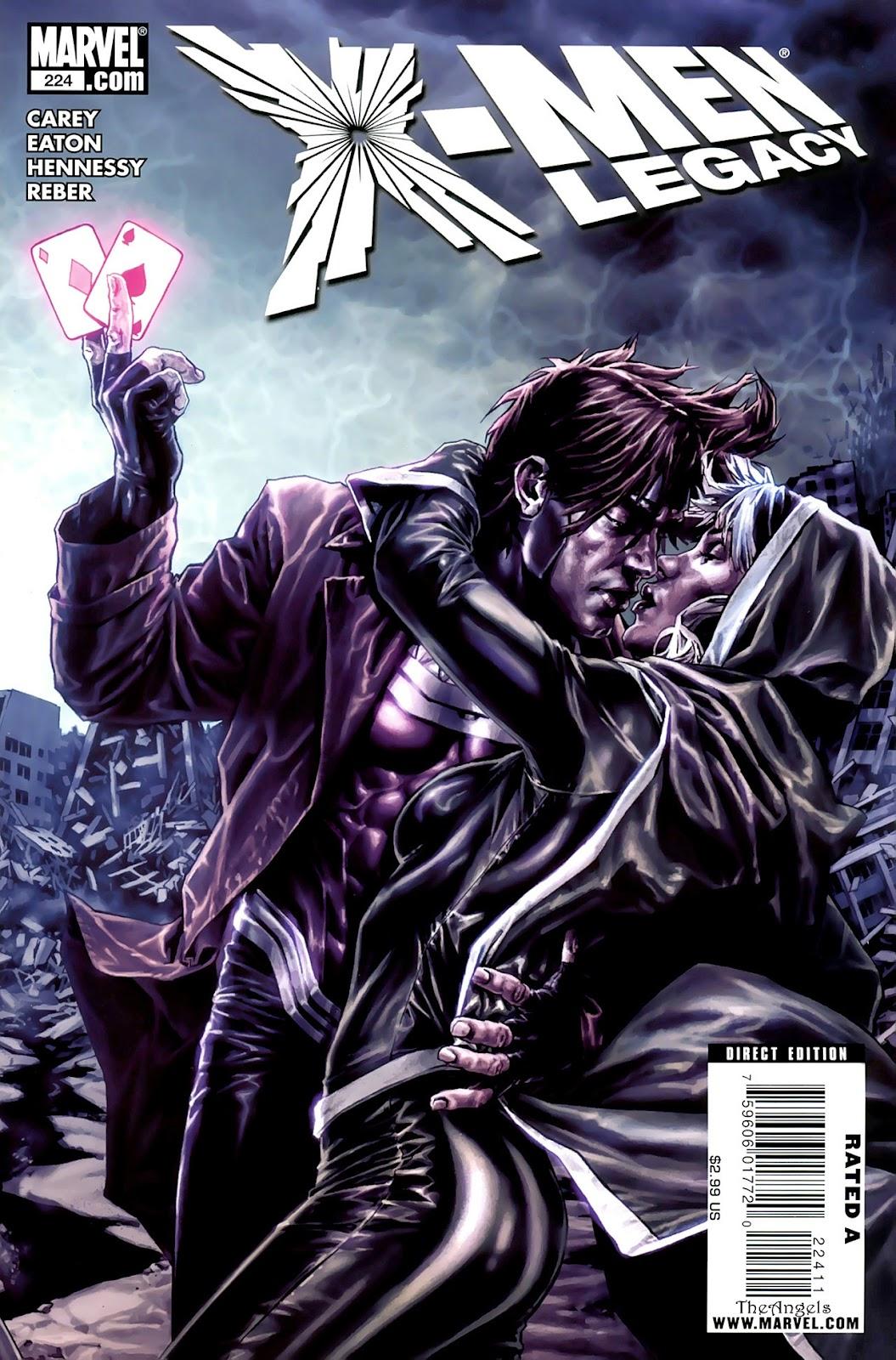X-Men Legacy (2008) 224 Page 1