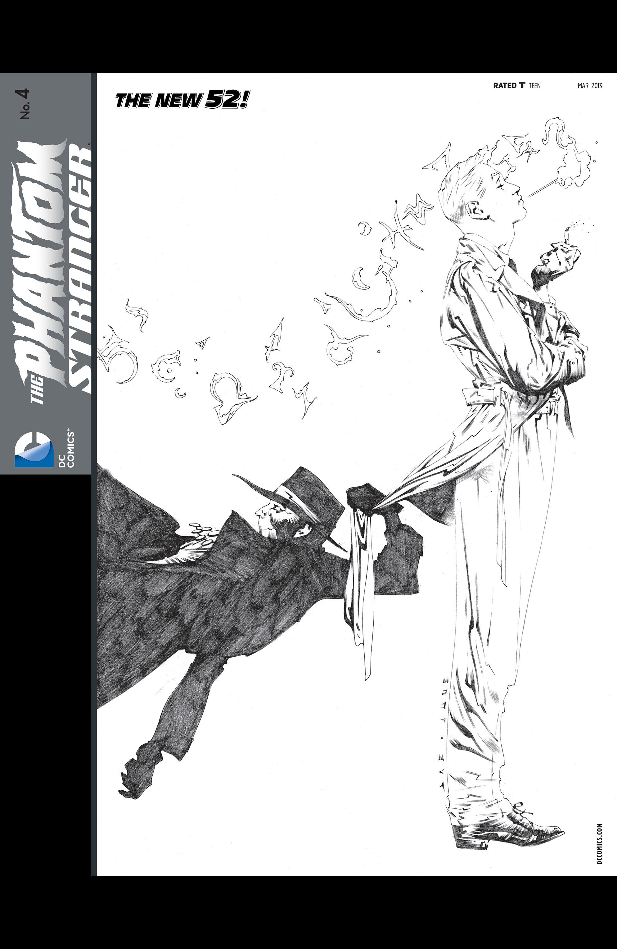 Read online Trinity of Sin: The Phantom Stranger comic -  Issue #4 - 2