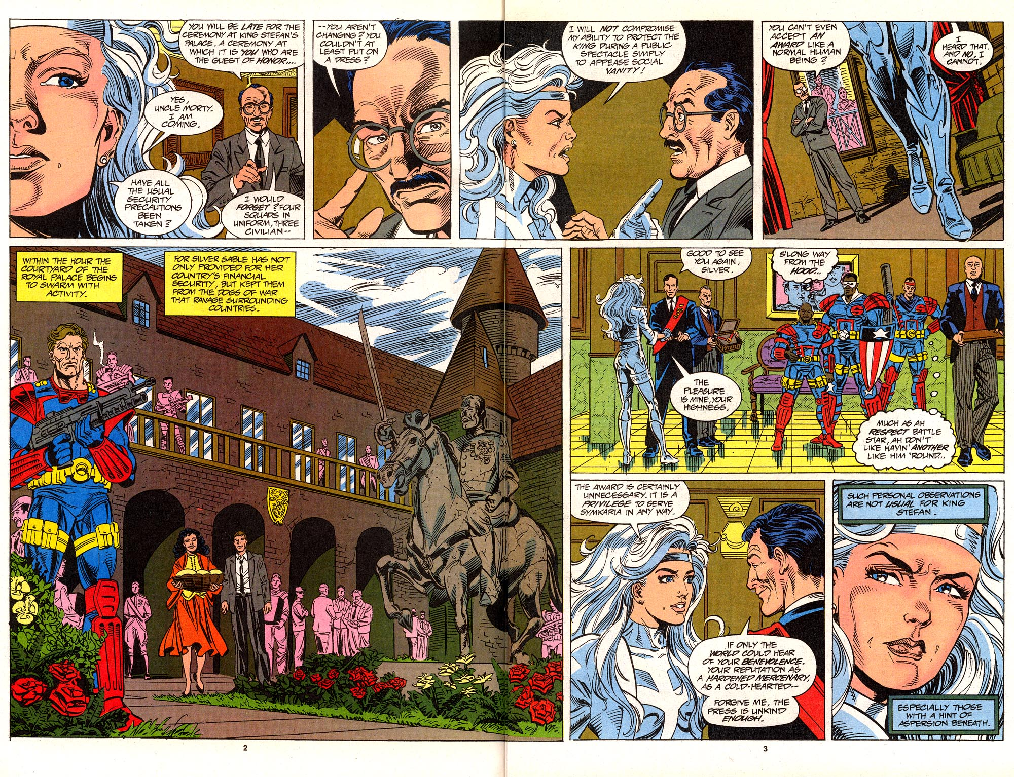 Read online Silver Sable and the Wild Pack comic -  Issue #24 - 4