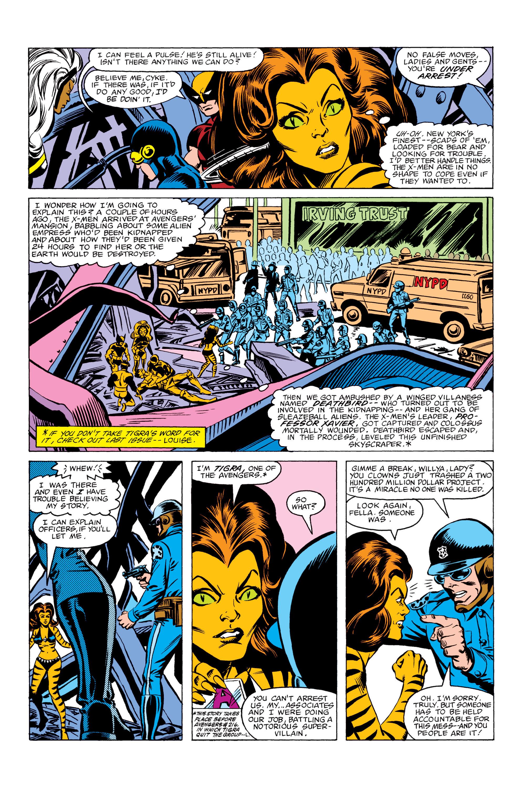 Read online Uncanny X-Men (1963) comic -  Issue #156 - 3