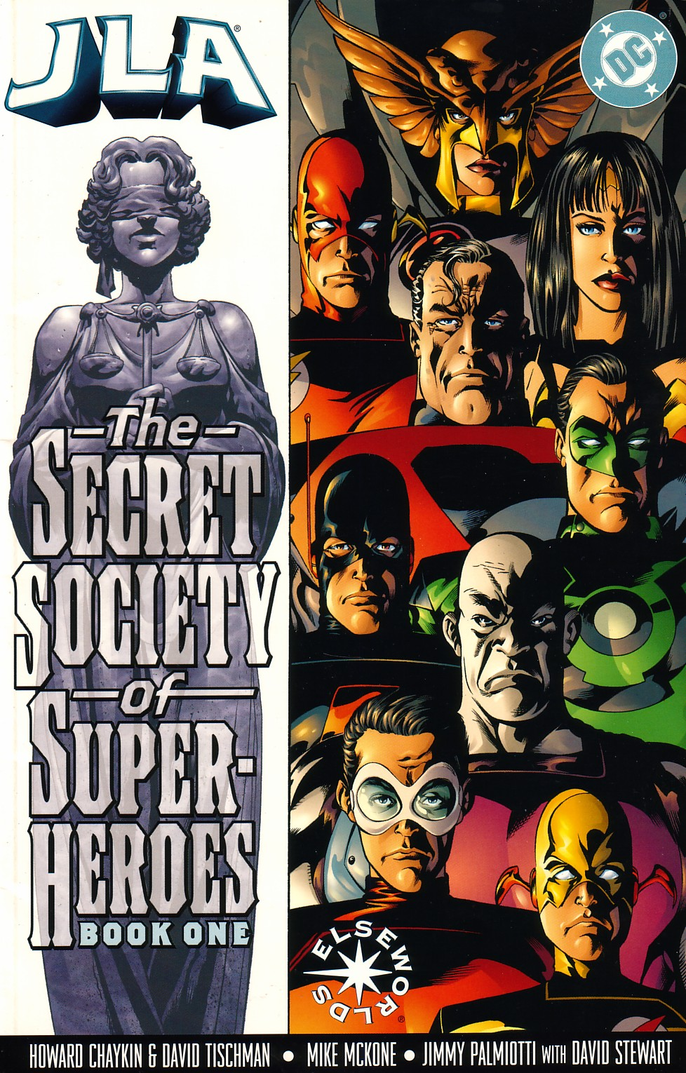 JLA: The Secret Society of Super-Heroes issue 1 - Page 1