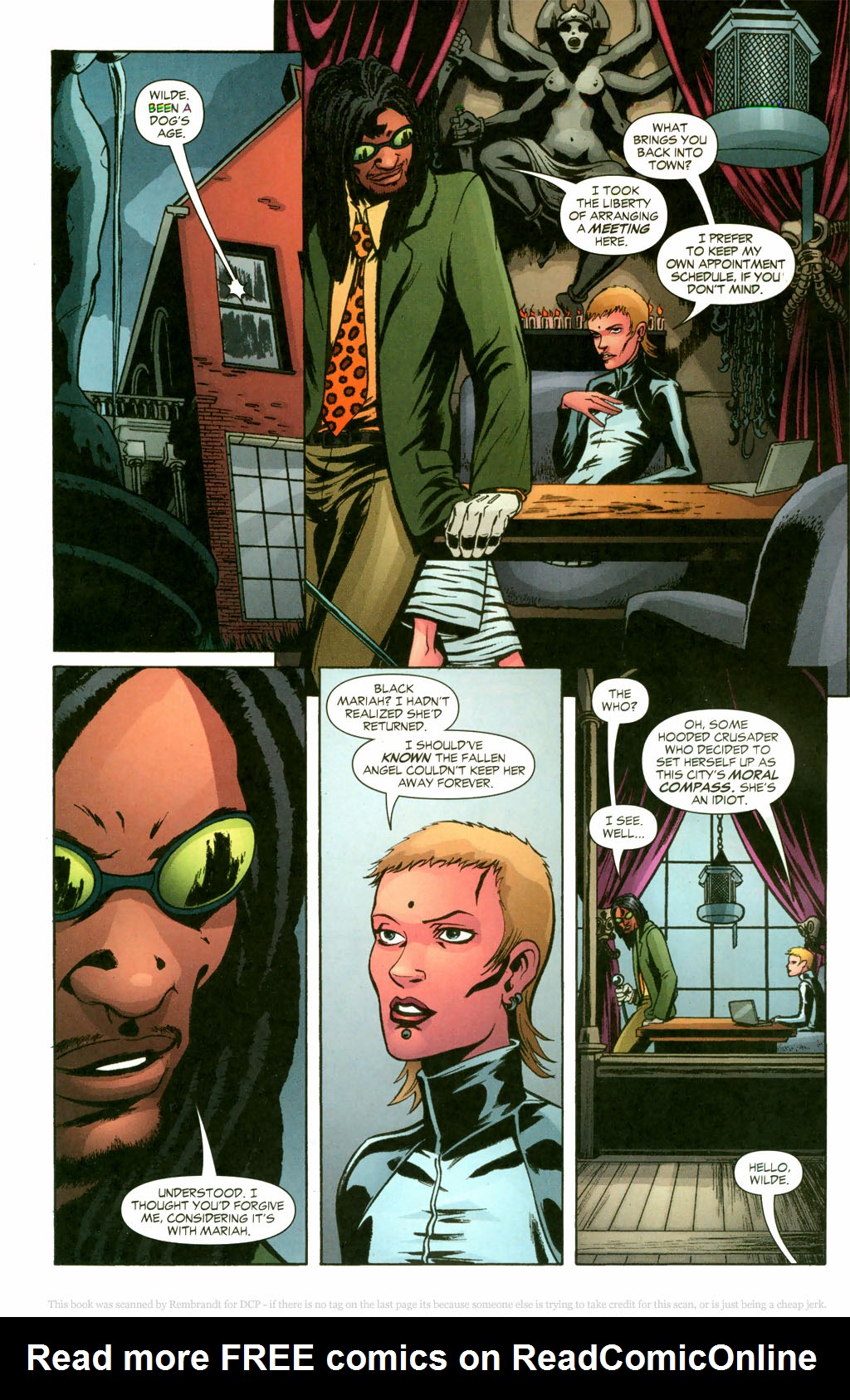 Read online Fallen Angel (2003) comic -  Issue #10 - 21