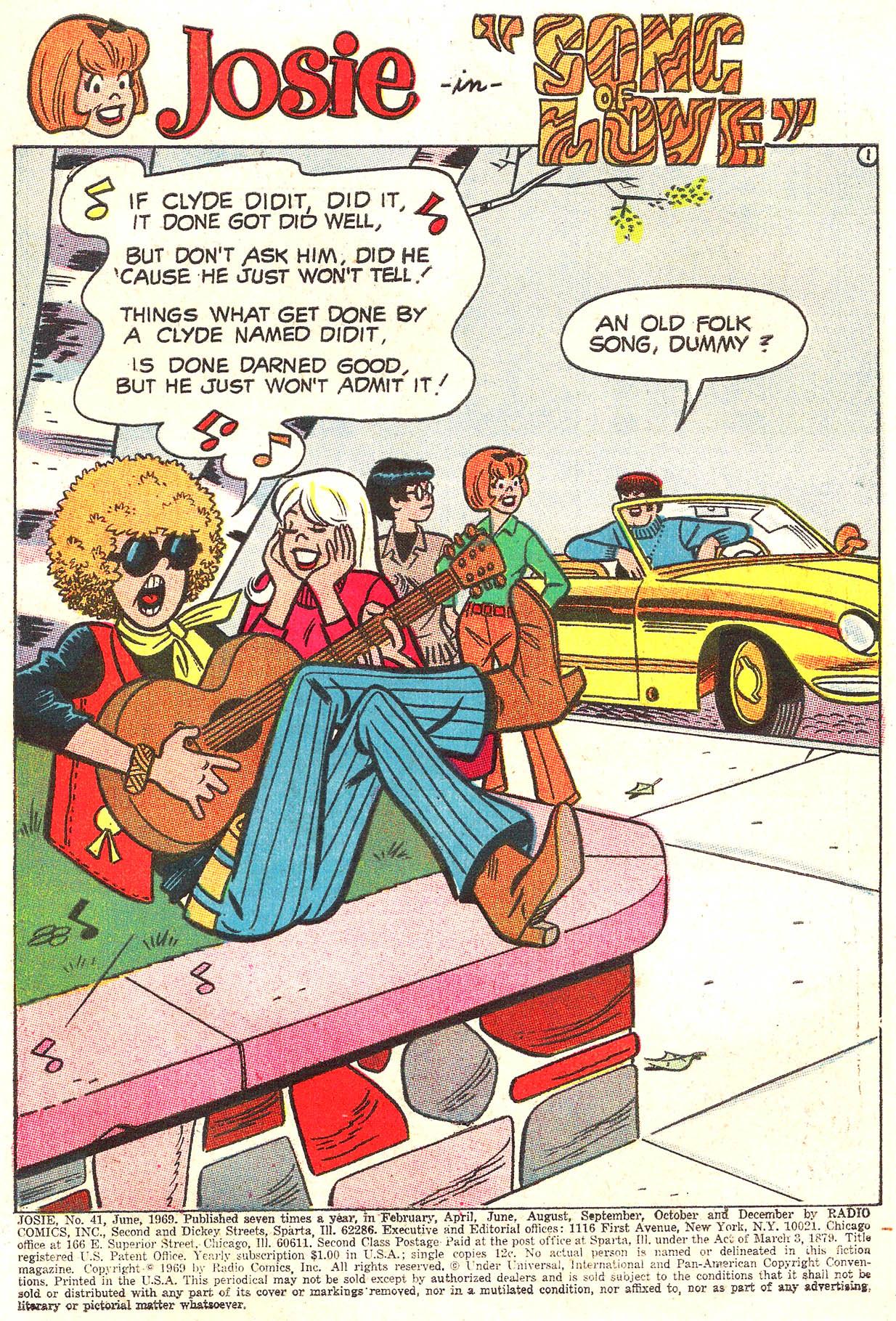 Read online She's Josie comic -  Issue #41 - 3