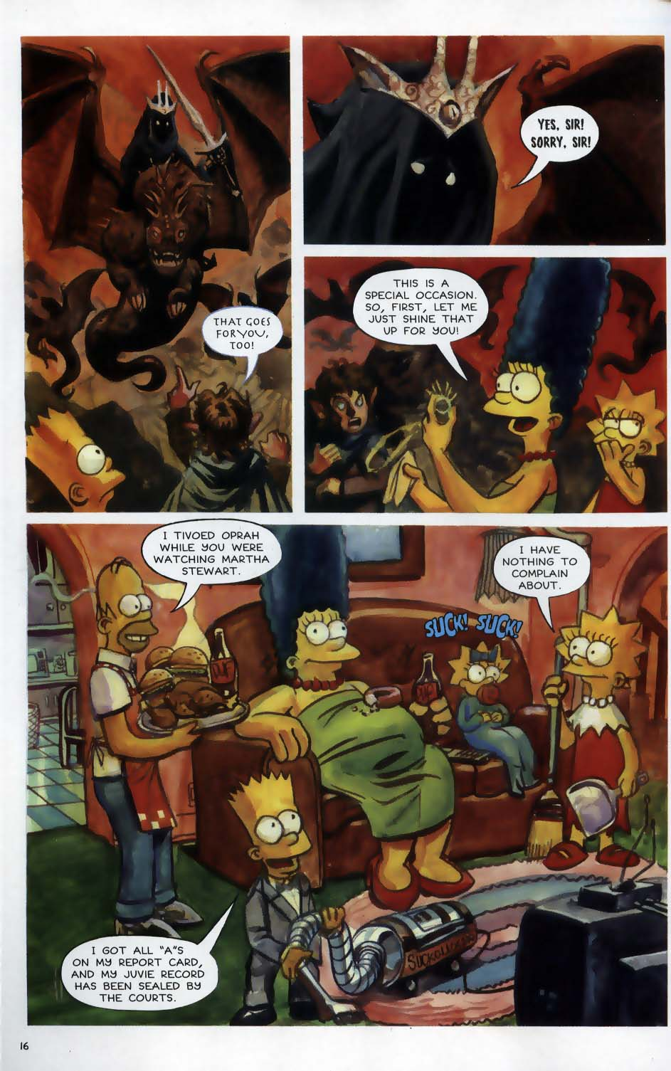 Read online Treehouse of Horror comic -  Issue #9 - 18