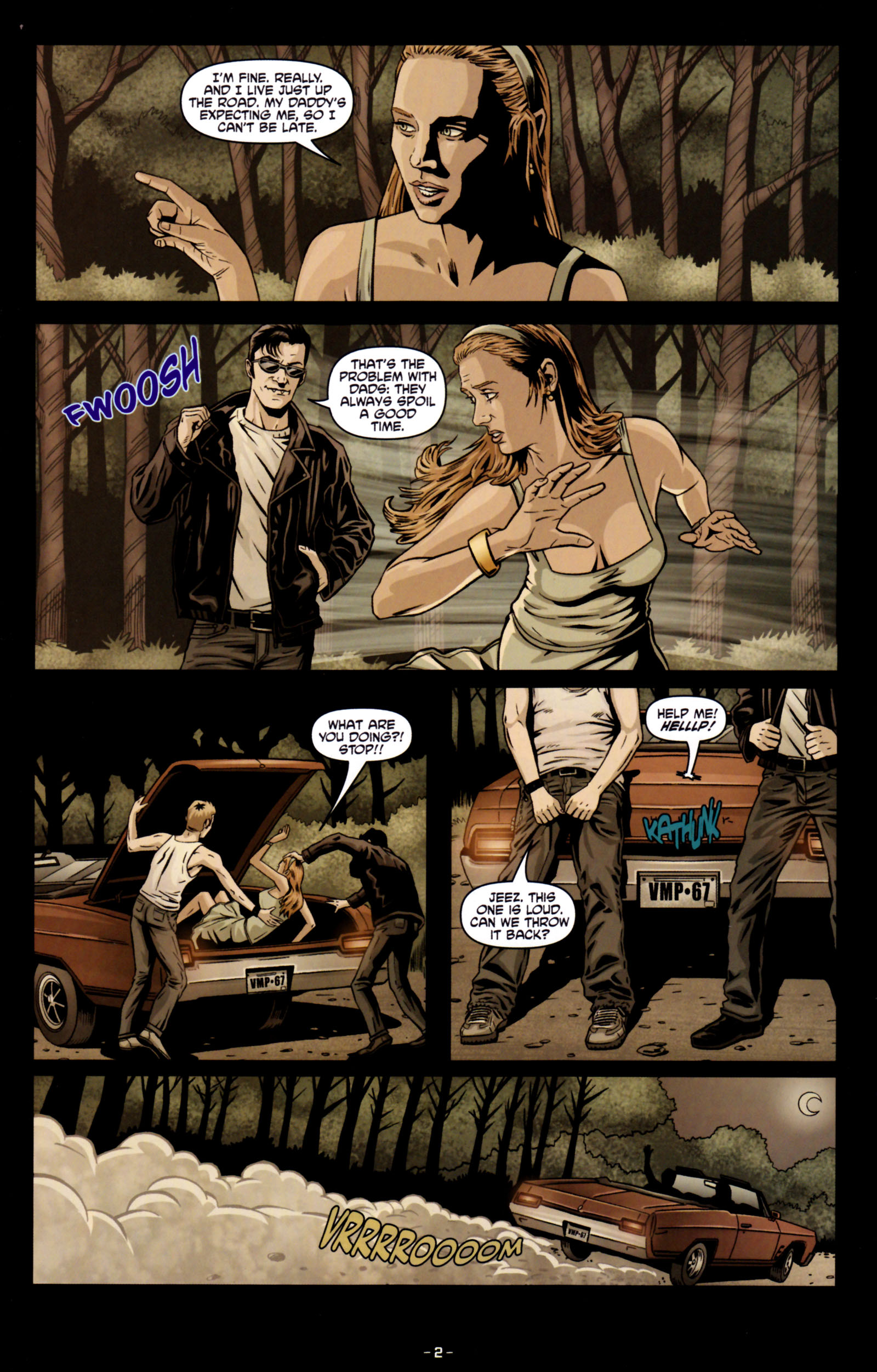 Read online True Blood: Tainted Love comic -  Issue #5 - 5