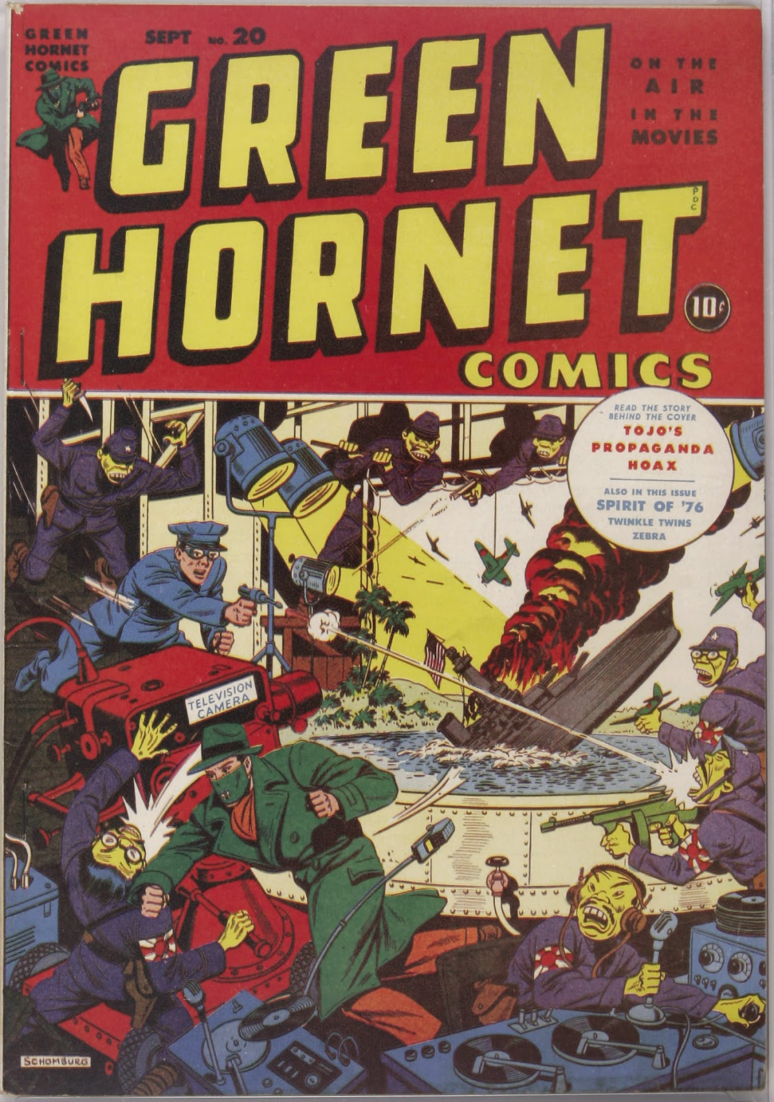 Green Hornet Comics issue 20 - Page 1