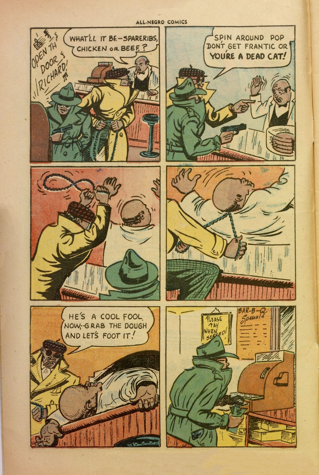 All-Negro Comics issue Full - Page 4