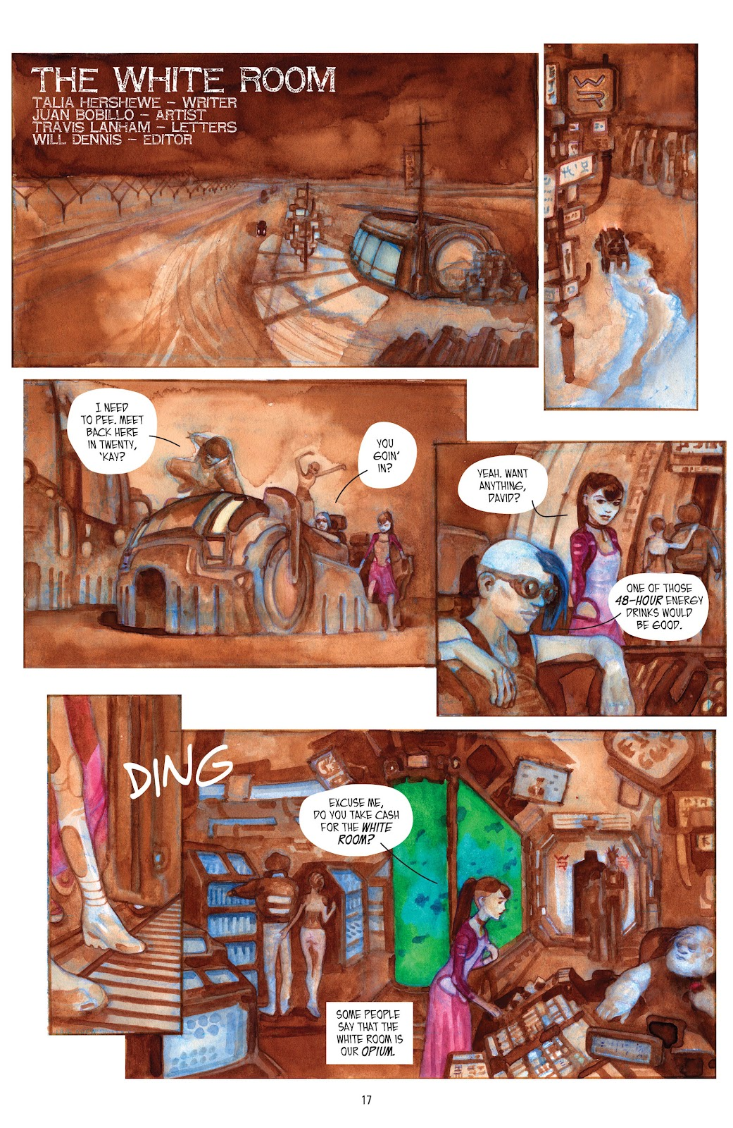 Read online Strange Adventures (2014) comic -  Issue # TPB (Part 1) - 15