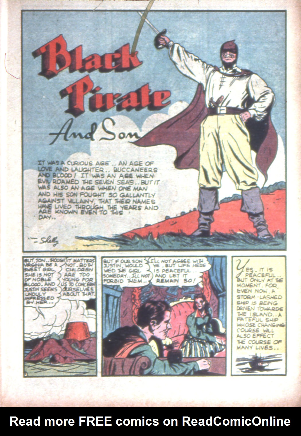 Read online Sensation (Mystery) Comics comic -  Issue #15 - 17