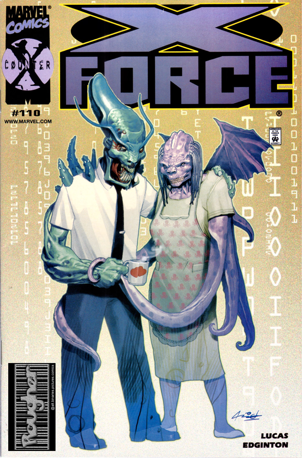 Read online X-Force (1991) comic -  Issue #110 - 1