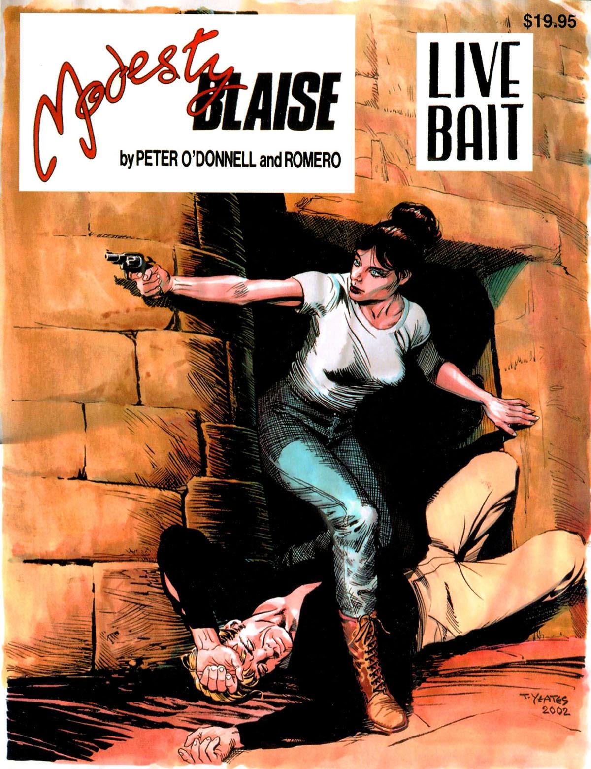 Read online Modesty Blaise Live bait comic -  Issue # TPB - 1