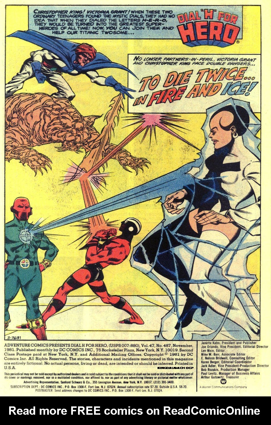 Read online Adventure Comics (1938) comic -  Issue #487 - 2
