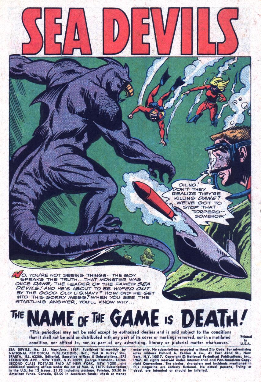 Read online Sea Devils comic -  Issue #35 - 4
