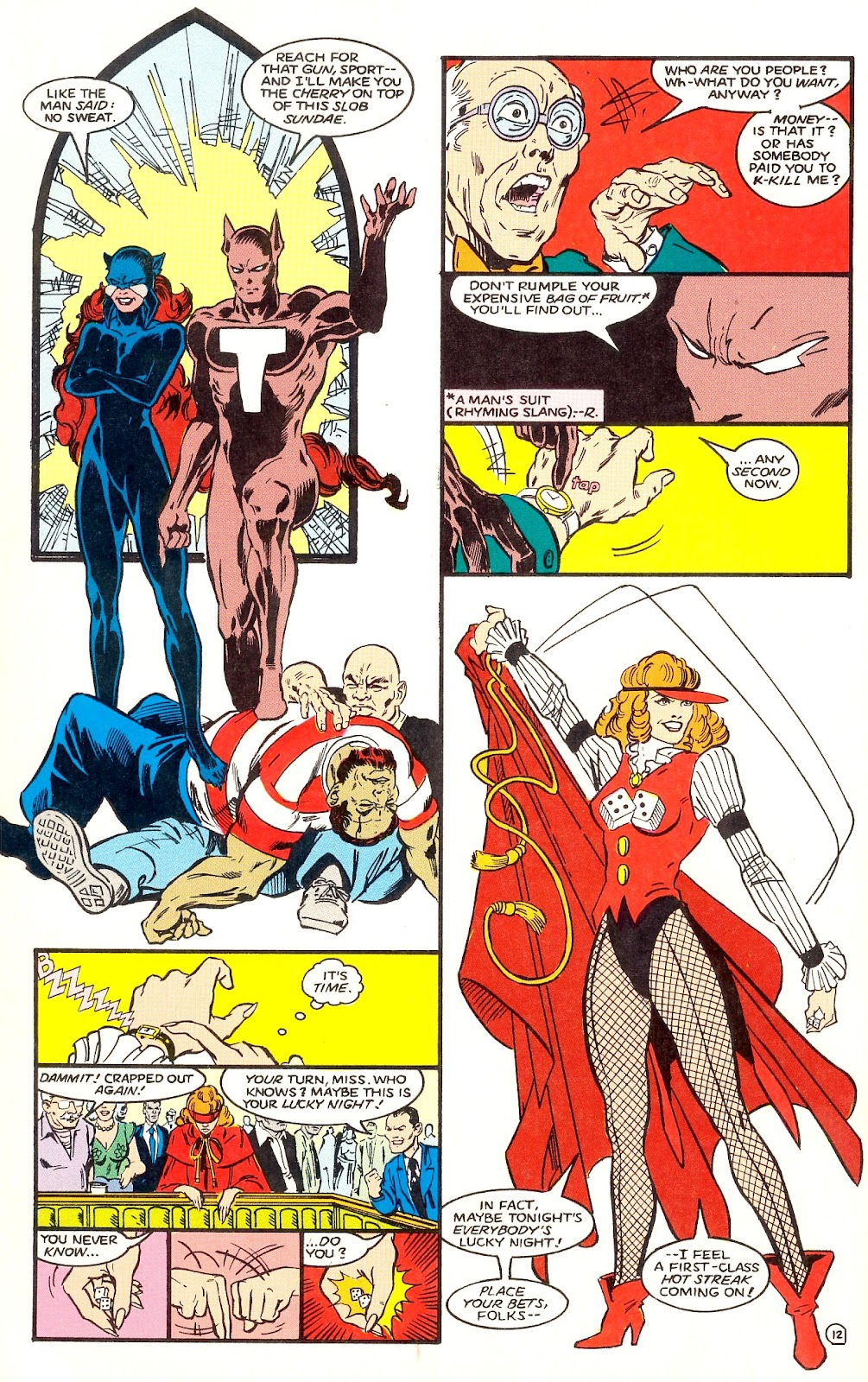 Infinity Inc. (1984) issue 35 - Page 14