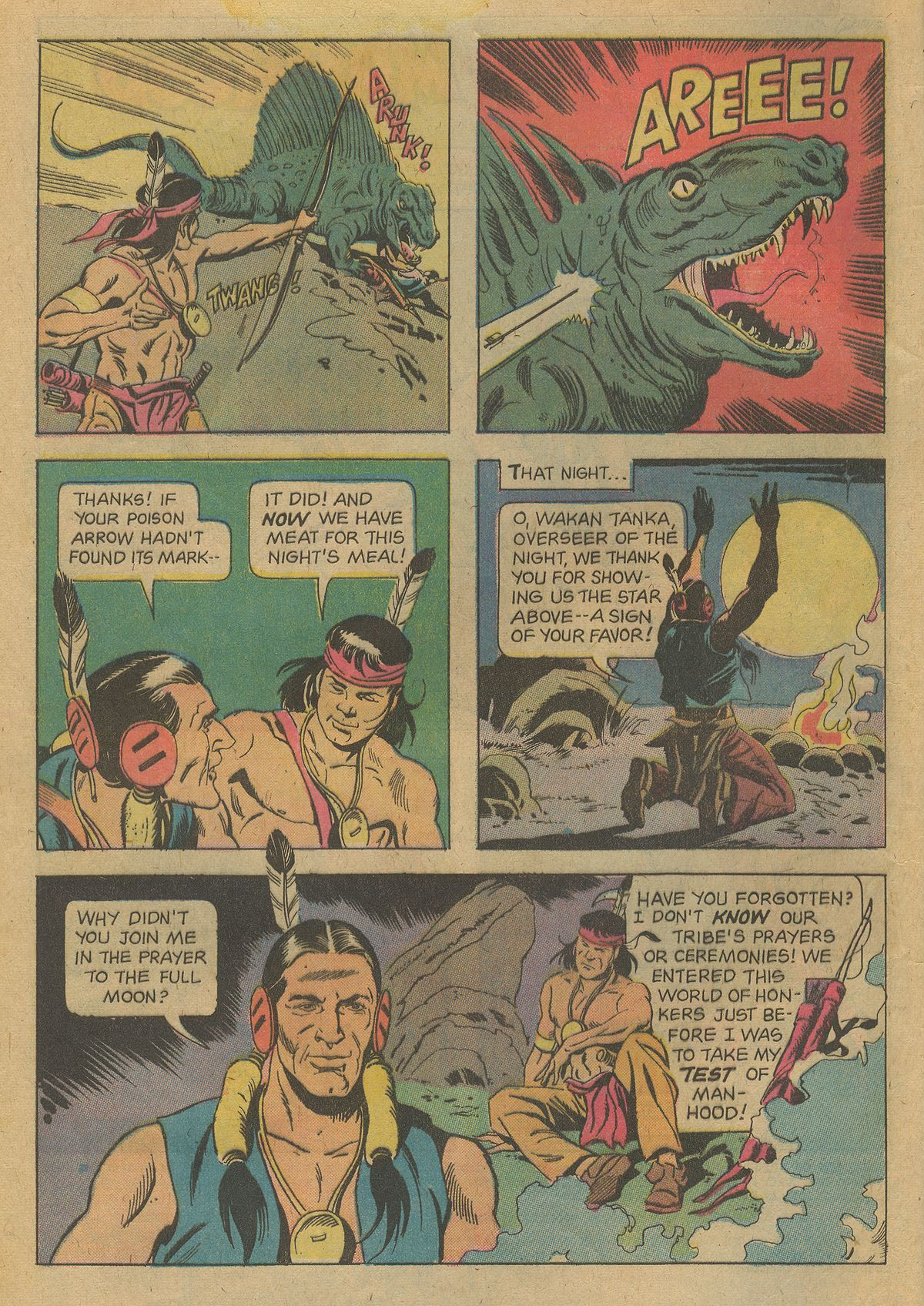 Read online Turok, Son of Stone comic -  Issue #96 - 4