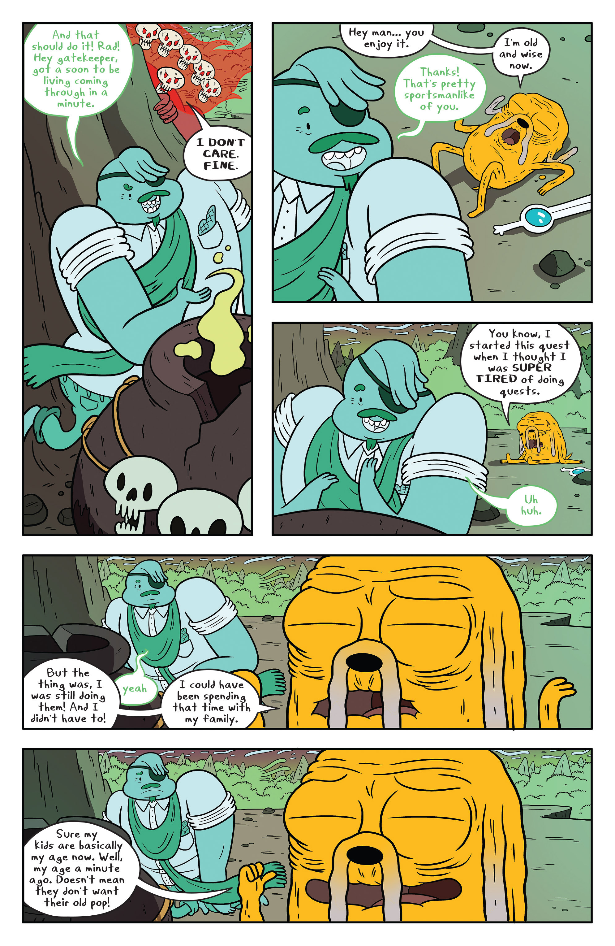 Read online Adventure Time comic -  Issue #53 - 21