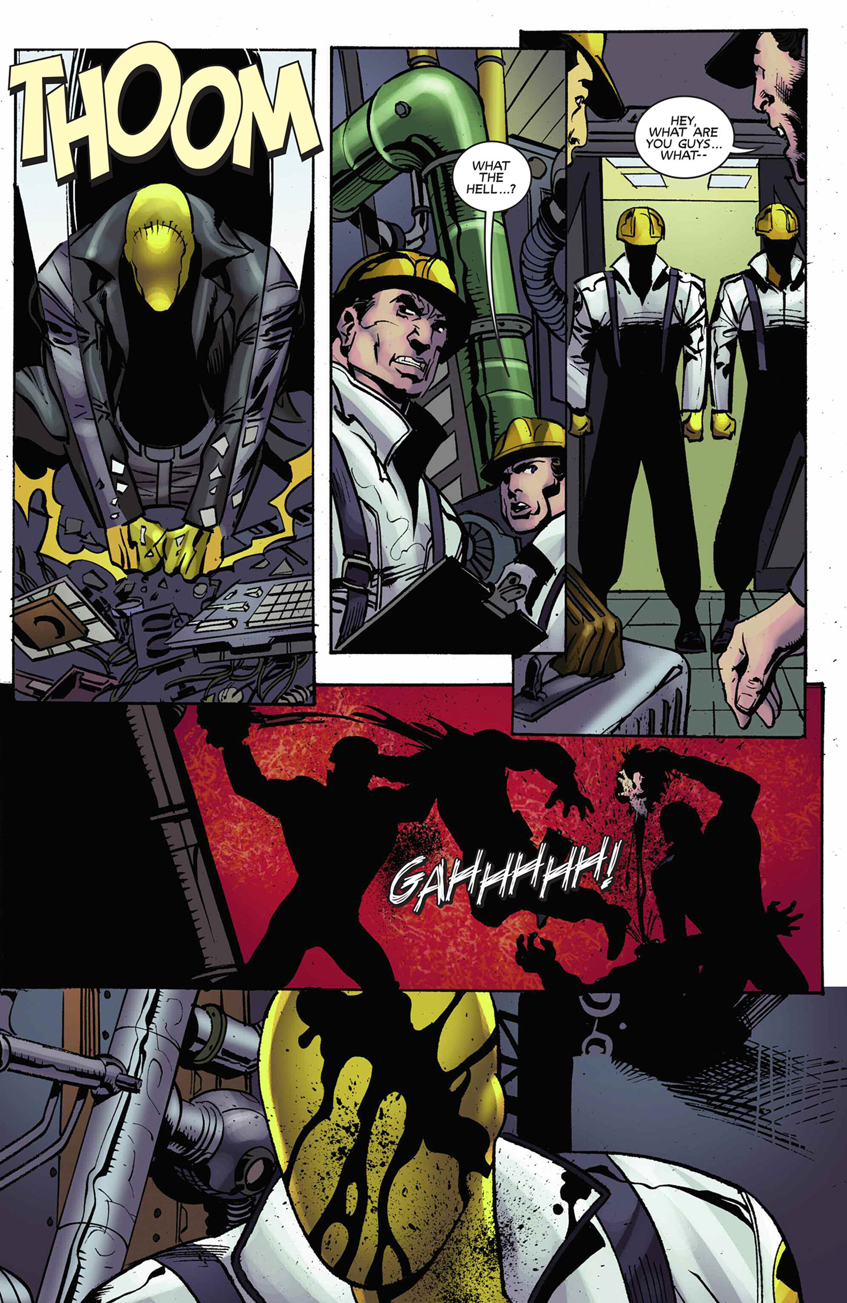 Read online Solar: Man of the Atom (2014) comic -  Issue #9 - 8
