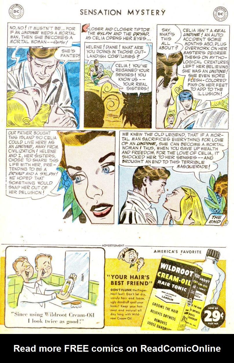 Read online Sensation (Mystery) Comics comic -  Issue #113 - 18