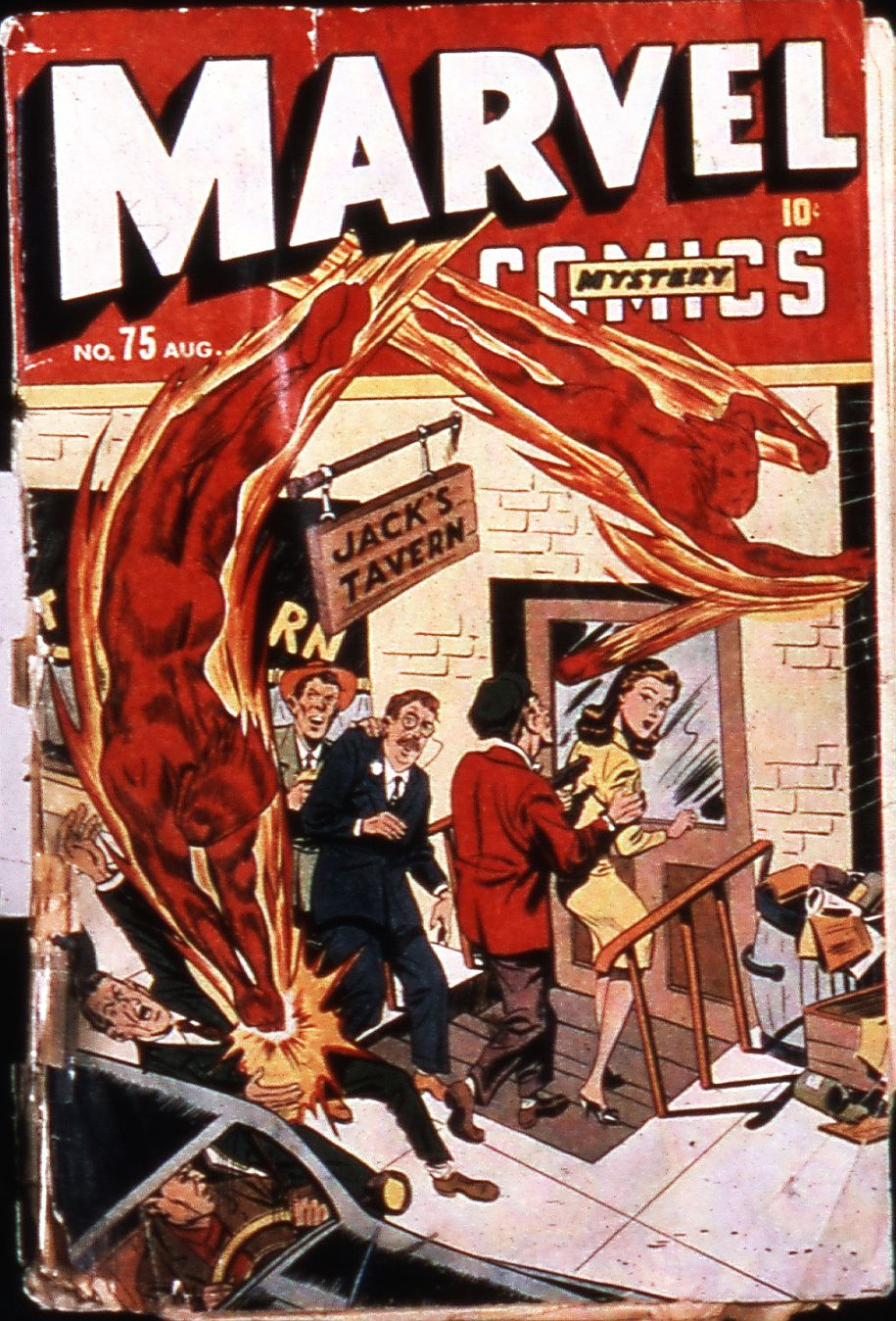 Marvel Mystery Comics (1939) issue 75 - Page 2