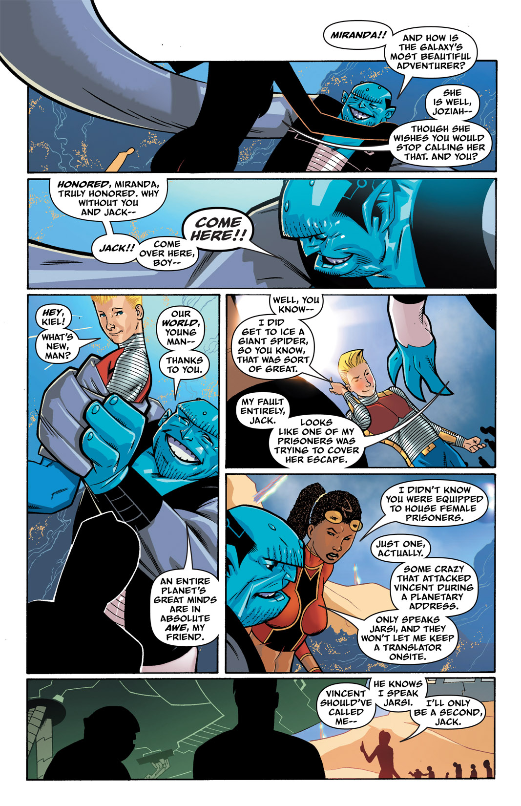 Read online The Many Adventures of Miranda Mercury: Time Runs Out comic -  Issue # TPB - 48