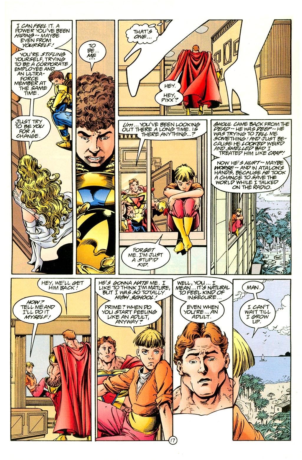 Read online UltraForce (1994) comic -  Issue #4 - 17