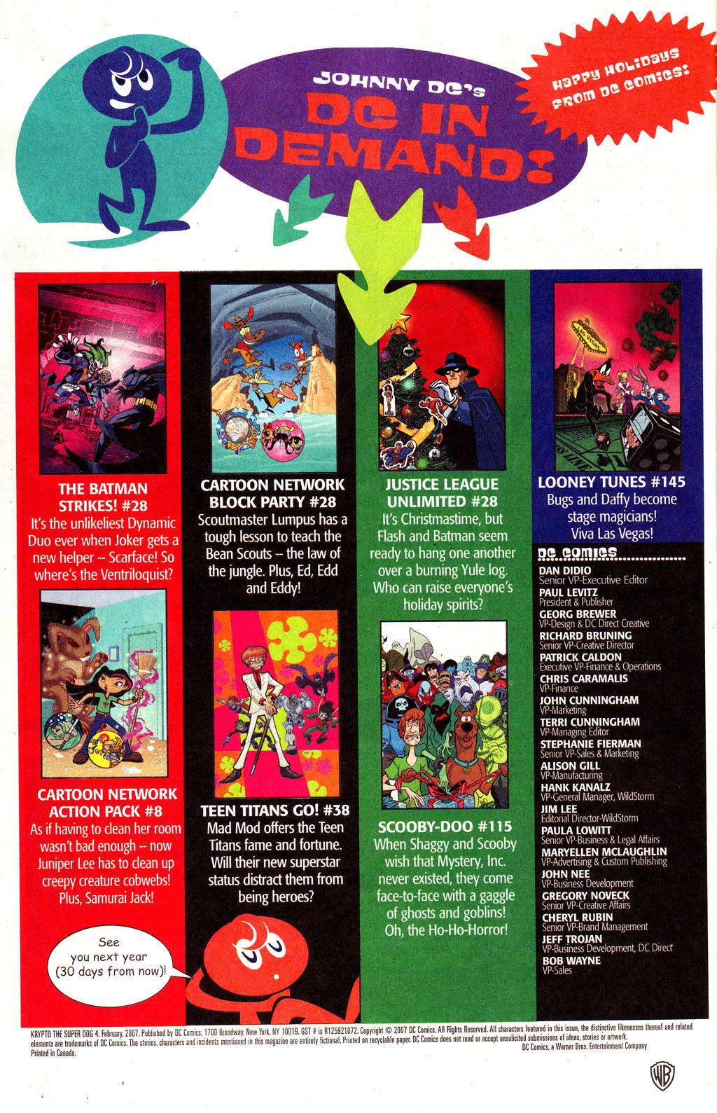 Read online Krypto the Superdog comic -  Issue #4 - 22