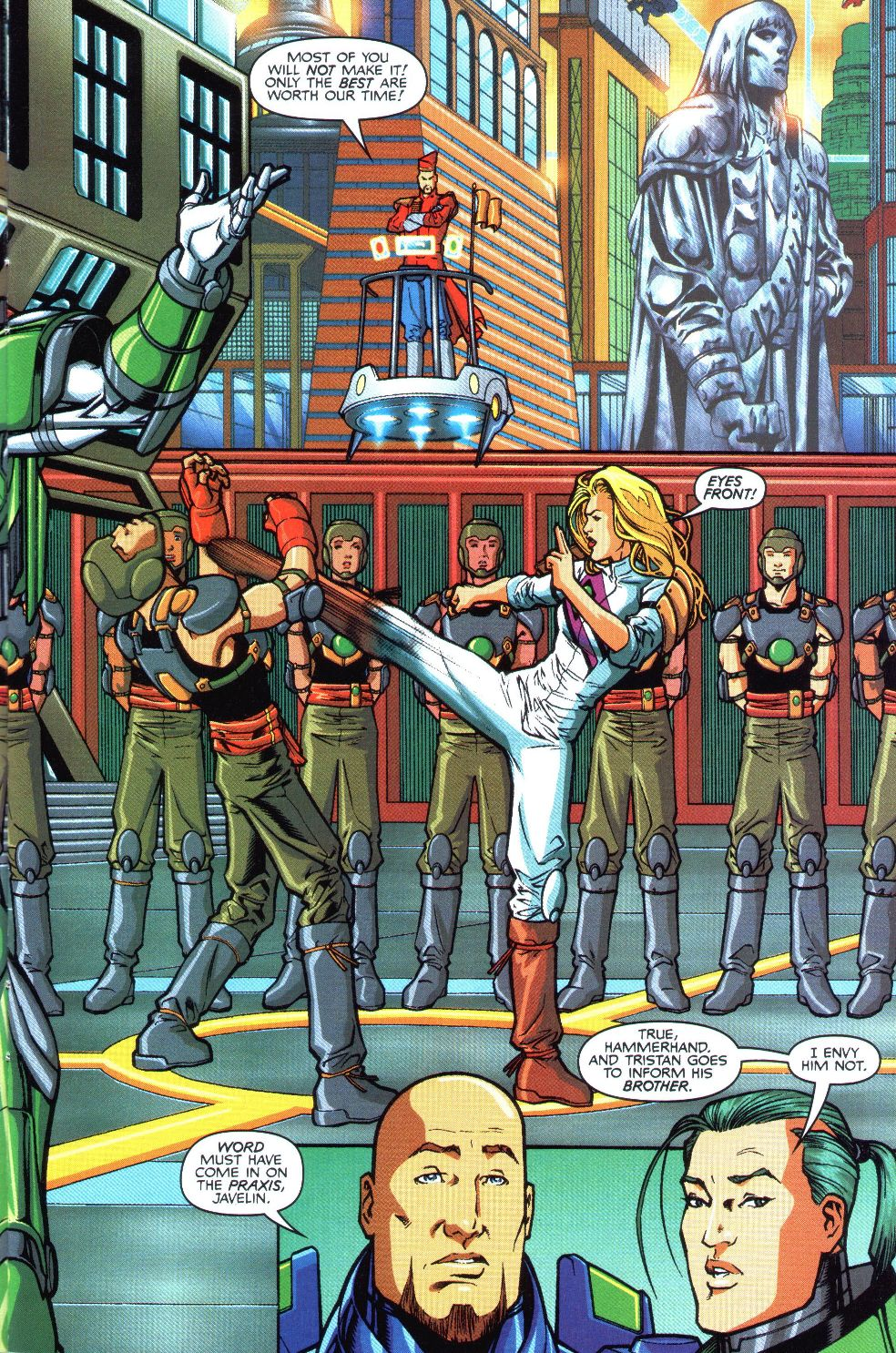 Read online Spaceknights (2000) comic -  Issue #1 - 9