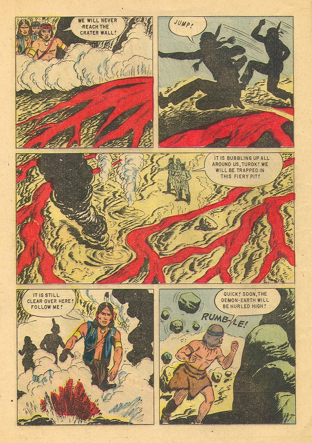 Read online Turok, Son of Stone comic -  Issue #36 - 12