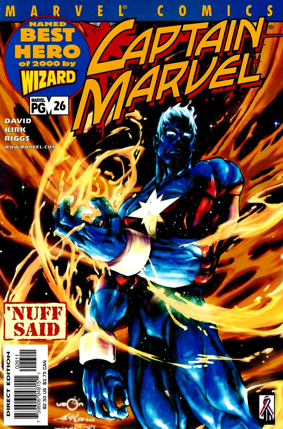 Captain Marvel (1999) 26 Page 1