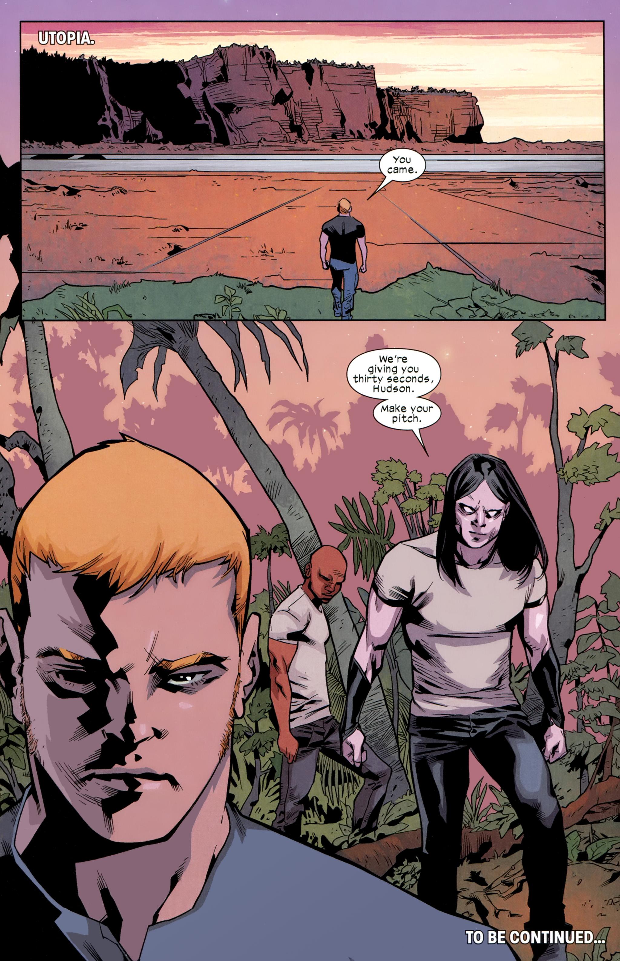 Read online Ultimate Comics X-Men comic -  Issue #24 - 21