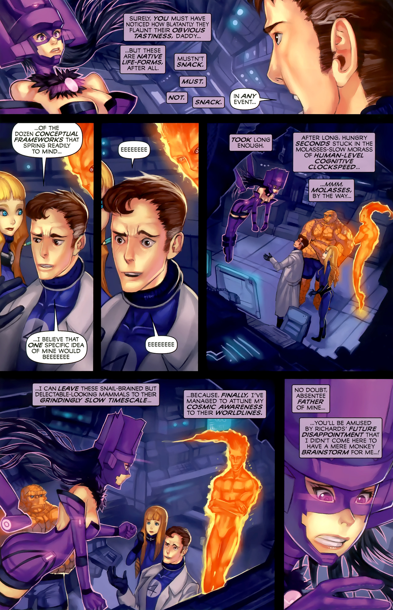 Read online Galacta: Daughter of Galactus comic -  Issue # Full - 26