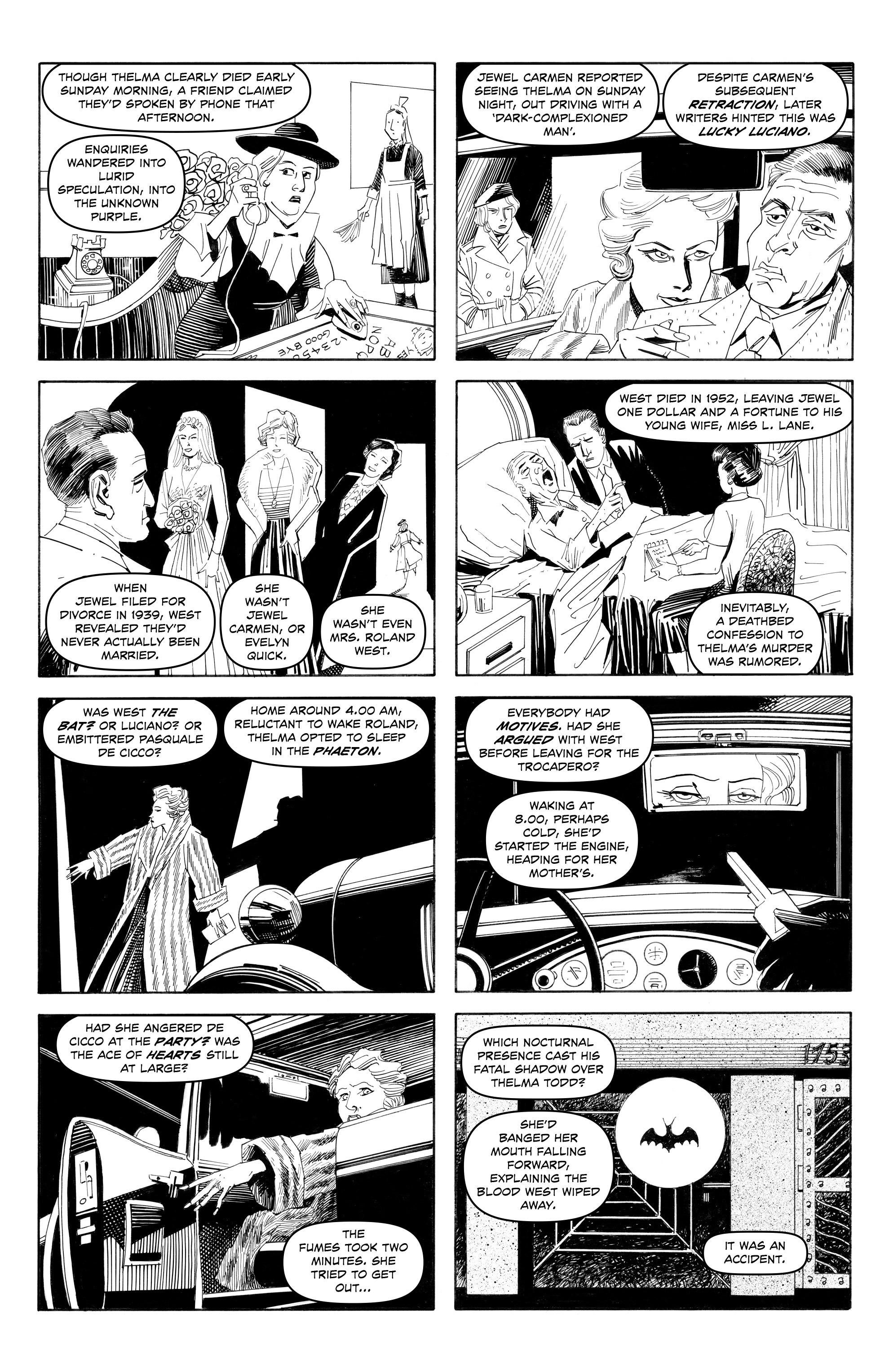 Read online Alan Moore's Cinema Purgatorio comic -  Issue #9 - 10