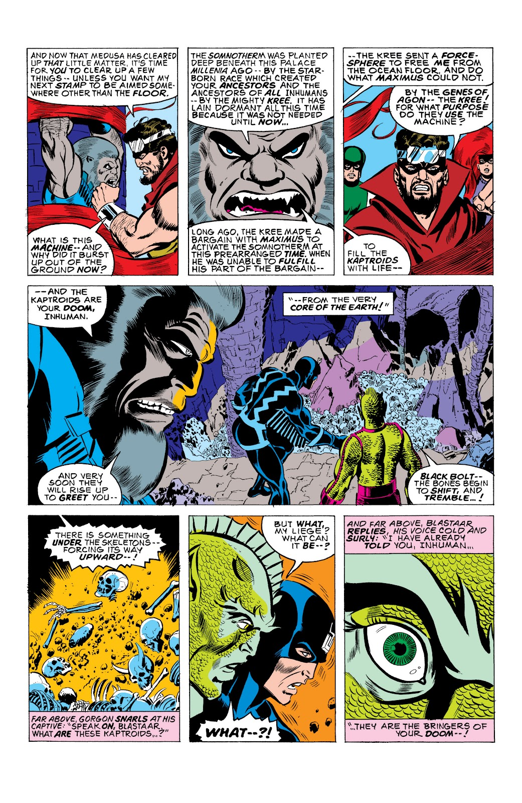 Read online Marvel Masterworks: The Inhumans comic -  Issue # TPB 2 (Part 1) - 35