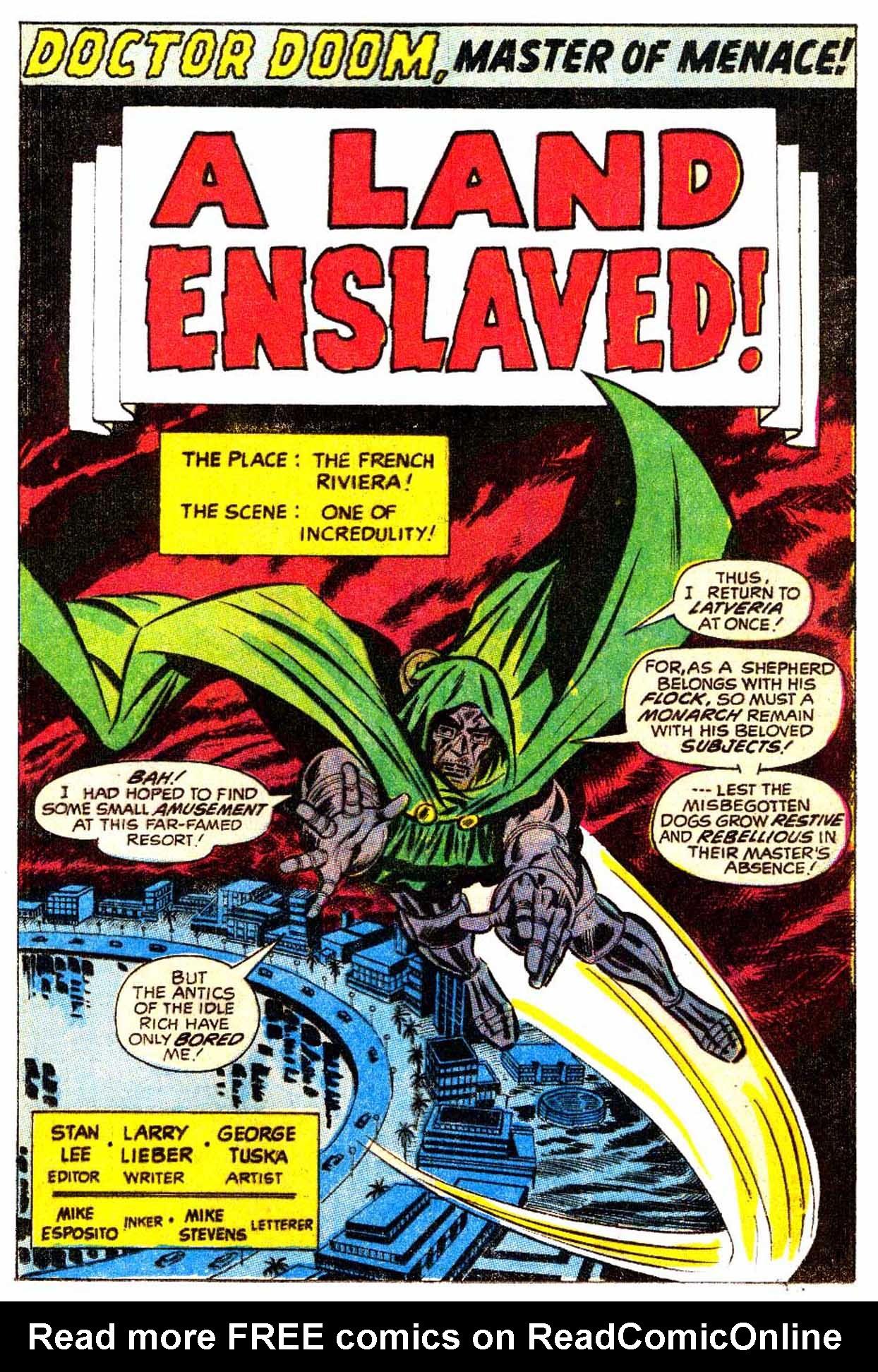 Read online Astonishing Tales (1970) comic -  Issue #5 - 2