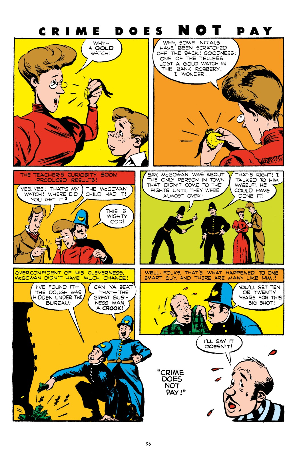 Read online Crime Does Not Pay Archives comic -  Issue # TPB 5 (Part 1) - 96