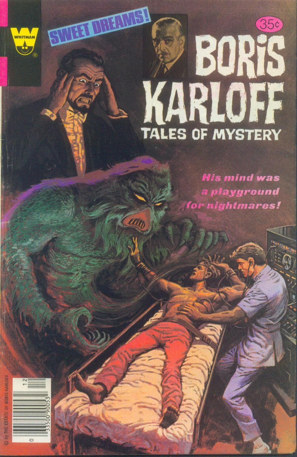 Boris Karloff Tales of Mystery issue 87 - Page 1