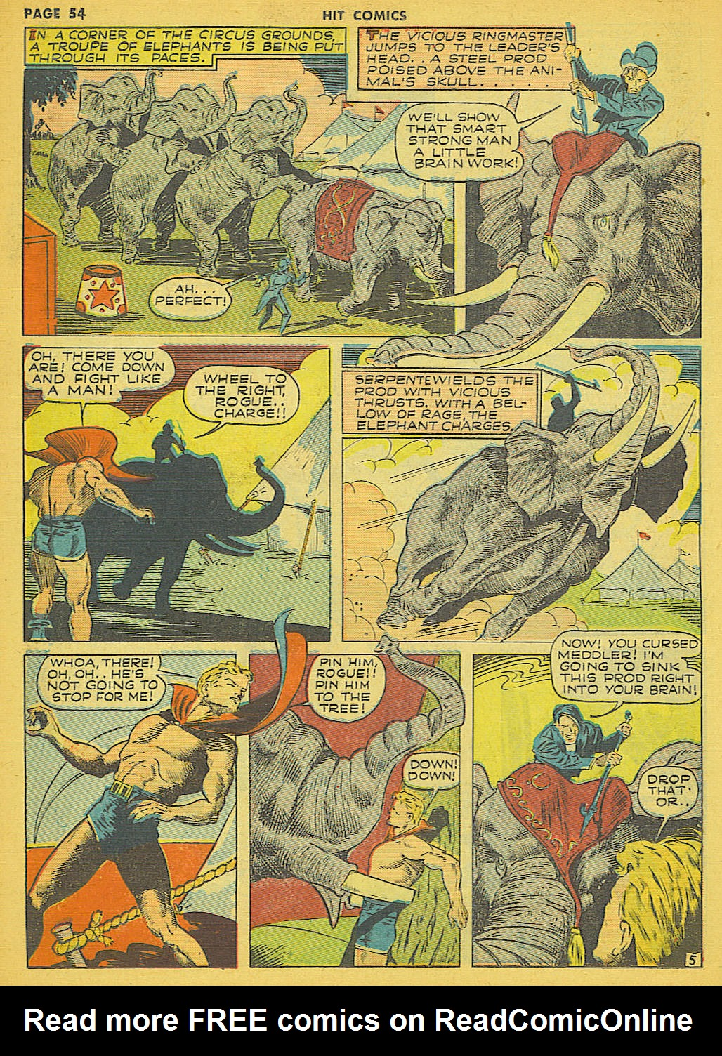 Read online Hit Comics comic -  Issue #21 - 56