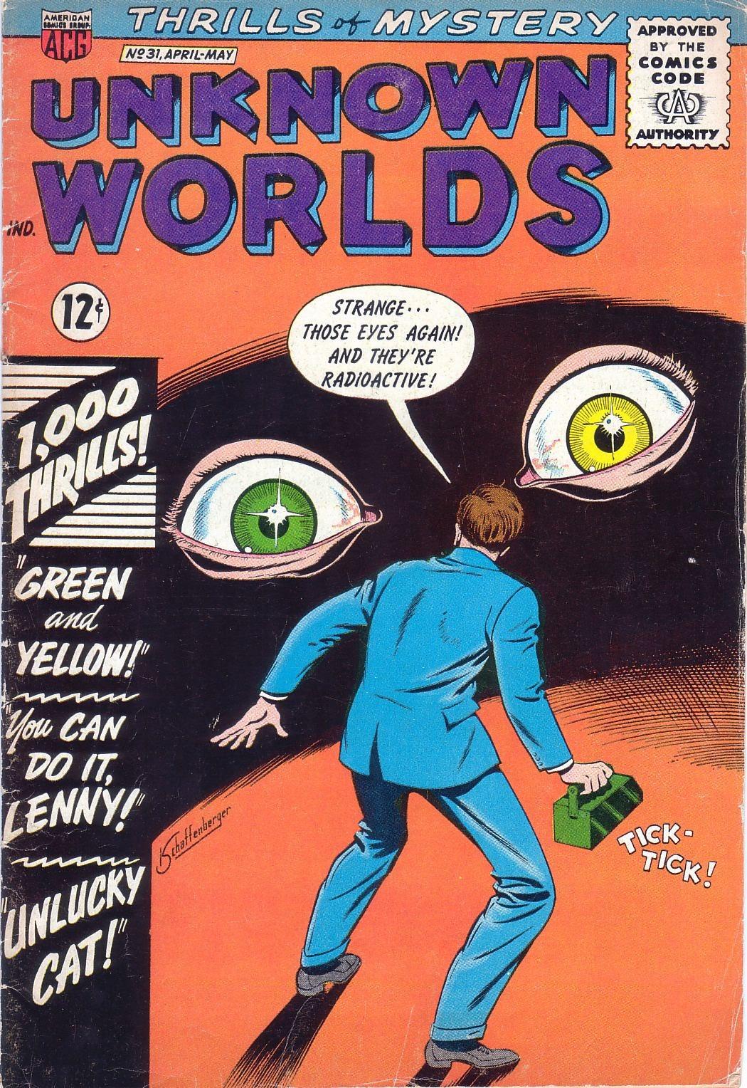 Unknown Worlds 31 Page 1