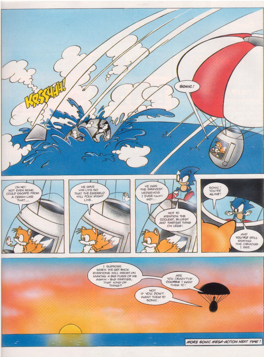 Read online Sonic the Comic comic -  Issue #6 - 9